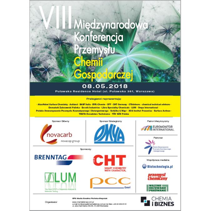 VIII Międzynarodowa Konferencja Przemysłu Chemii Gospodarczej